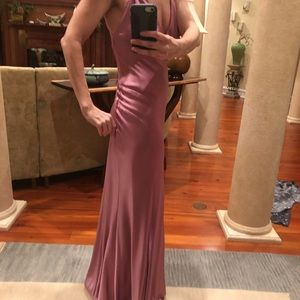 ABS satin Evening gown
